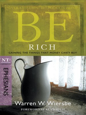 cover image of Be Rich