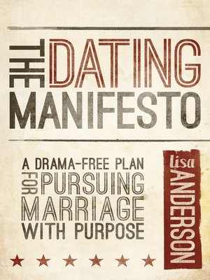 Dating manifesto da Lisa
