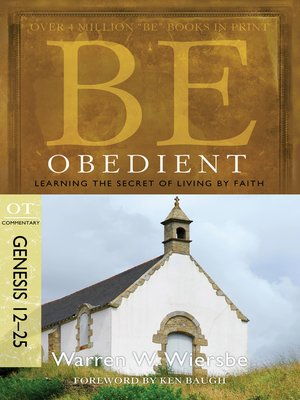 cover image of Be Obedient