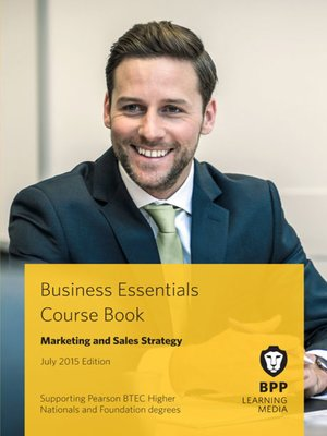 cover image of Marketing and Sales Strategy Course Book 2015