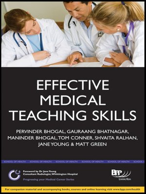 cover image of Effective Medical Teaching Skills