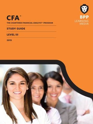 cover image of CFA Level 3