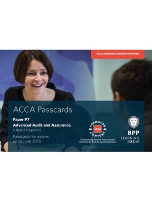 cover image of ACCA P7 Advanced Audit and Assurance (UK)