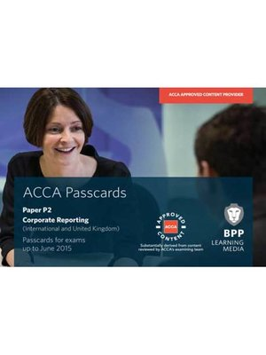cover image of ACCA P2 Corporate Reporting (International)