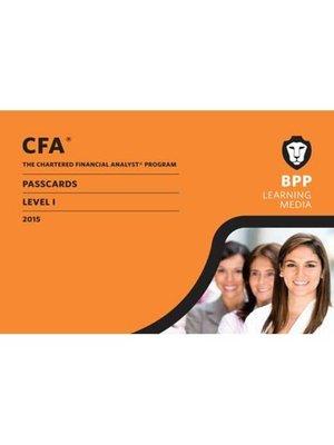 cover image of CFA Level 1