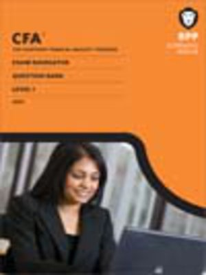 cover image of CFA Navigator - Level 1 Question Bank