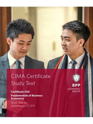 cover image of CIMA Fundamentals of Business Economics