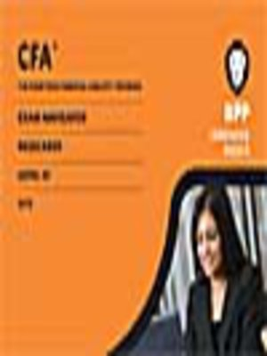 cover image of CFA Navigator - Level 3 Passcards