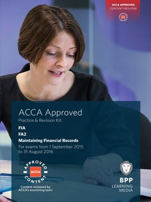 cover image of FIA Maintaining Financial Records FA2