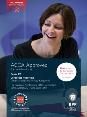 cover image of ACCA P2 Corporate Reporting (International & UK) (2016)