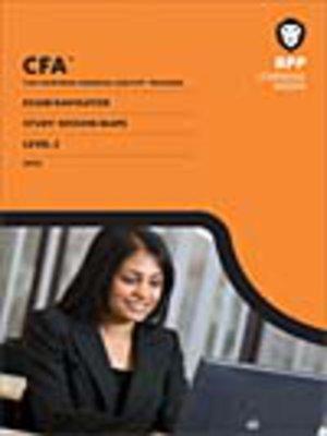 cover image of CFA Navigator - Level 2 Study Session Maps