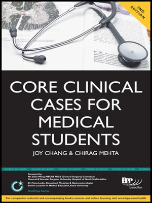 cover image of Core Clinical Cases for Medical Students
