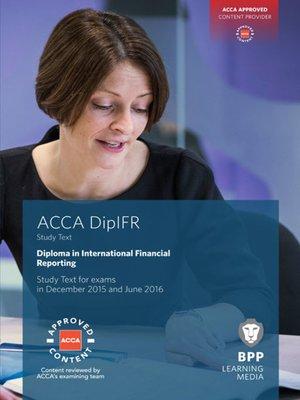 Dipifr diploma in international financial reporting study text by dipifr diploma in international financial reporting study text acca fandeluxe Gallery