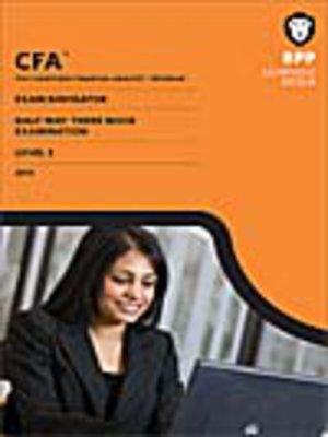 cover image of CFA Navigator - Level 3 Halfway-There Mock Exam