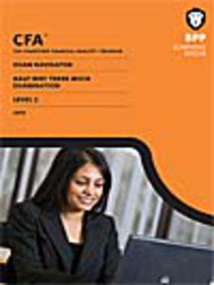 cover image of CFA Navigator - Level 2 Halfway-There Mock Exam