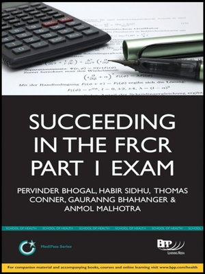 cover image of Succeeding in the FRCR Part 1 Exam (Module 1)