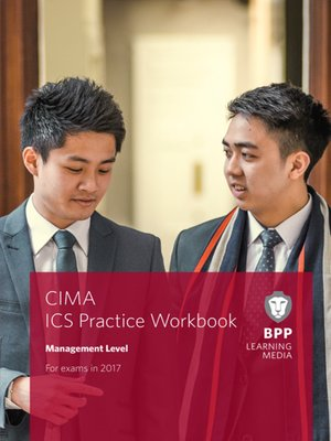 cover image of CIMA Management E2, F2 & P2 Integrated Case Study: Workbook