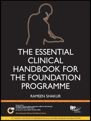 cover image of The Essential Clinical Handbook for the Foundation Programme