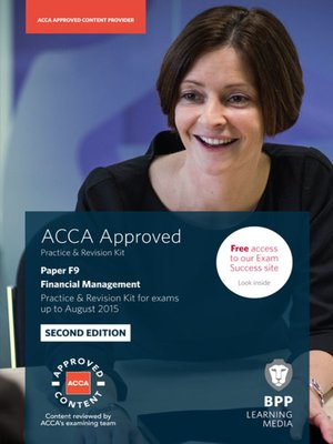 cover image of ACCA F9 Financial Management