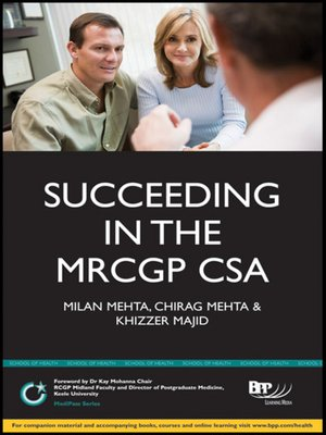 cover image of Succeeding in the MRCGP CSA