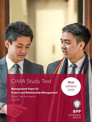 cover image of CIMA E2Project and Relationship Management