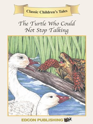 cover image of The Turtle Who Couldn't Stop Talking