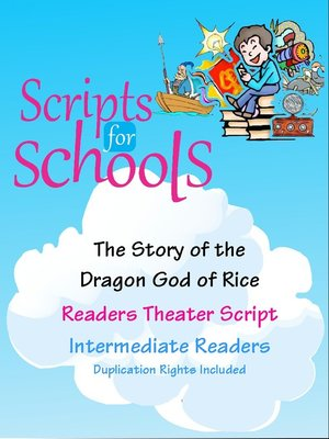 cover image of The Story of the Dragon God of Rice