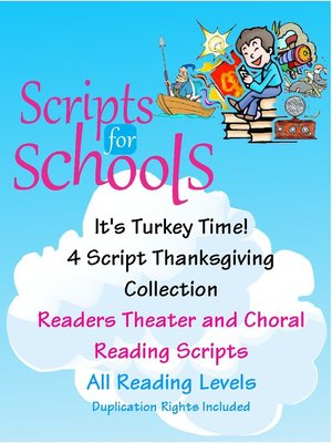cover image of It's Turkey Time! 4-Script Collection