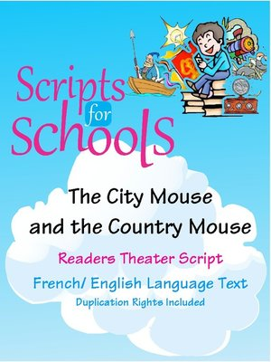 cover image of The City Mouse and the Country Mouse