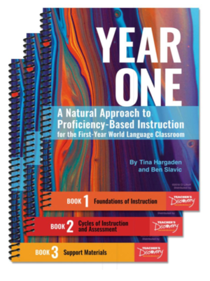 cover image of A Natural Approach to Year One Proficiency-Based Instruction for First Year Language Classrooms:  Book One