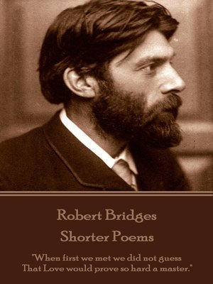 cover image of Shorter Poems