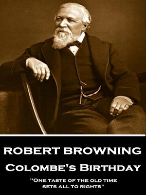cover image of Colombe's Birthday