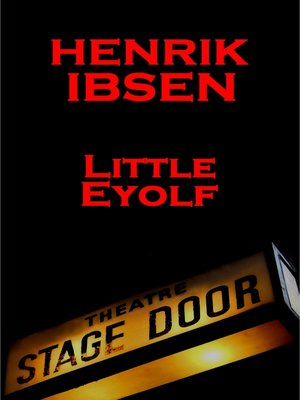 cover image of Little Eyolf