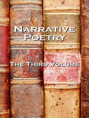 cover image of Narrative Verse, The Third Volume