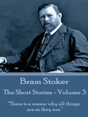 cover image of The Short Stories, Volume 3
