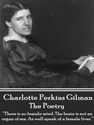 cover image of The Poetry of Charlotte Perkins Gilman