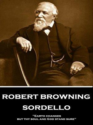 cover image of Sordello