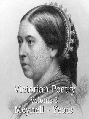 cover image of Victorian Poetry, Volume 3