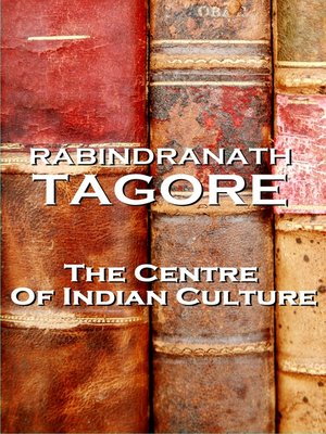 cover image of The Centre of Indian Culture