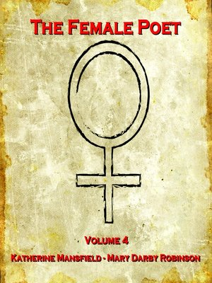 cover image of The Female Poet, Volume 4