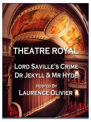 cover image of Lord Saville's Crime / Dr Jekyll and Mr Hyde