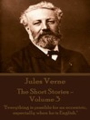 cover image of The Short Stories of Jules Verne, Volume 3