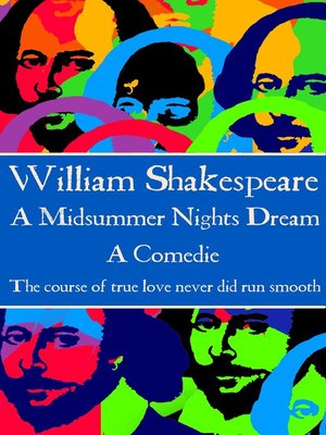 cover image of A Midsummer Nights Dream