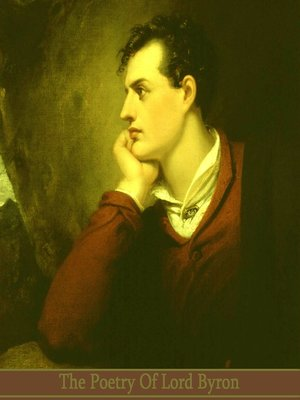cover image of The Poetry of Lord Byron