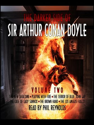 cover image of The Darker Side of Sir Arthur Conan Doyle, Volume 2