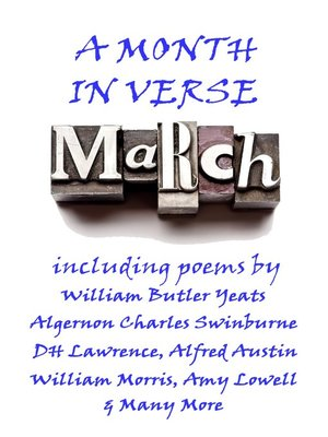 cover image of March, A Month In Verse