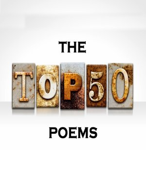 cover image of The Top 50 Poems