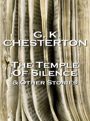 cover image of The Temple of Silence & Other Stories