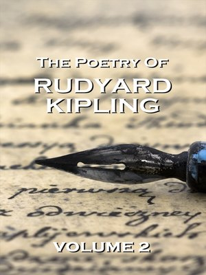 cover image of The Poetry of Rudyard Kipling, Volume 2