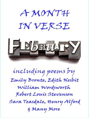 cover image of February, A Month In Verse